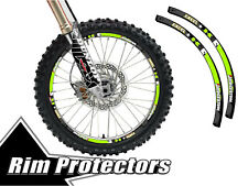 16 & 19 INCH DIRT BIKE RIM PROTECTORS WHEEL DECALS TAPE GRAPHICS MOTORCYCLE