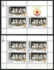 2013 Bulgaria Soccer 65 Years creating a football club CSKA-Sofia 2 x S/S ** !!!