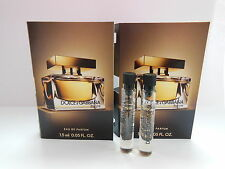 2 x Dolce & Gabbana D&G The One for men 1.5ml dab ons