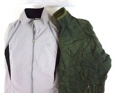 Patagonia Synchilla Men's Lot of 2 Olive Green Fleece Jackets Large L AG12266