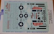 Microscale Decal 1:48 Scale #48-1192 / P-51D Mustangs: 311th FS/ 529th FS & 348