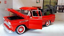 G LGB 1:24 Scale 1958 Chevrolet Apache Fleetside Wrecker Breakdown Diecast Model