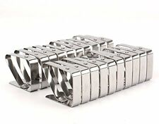 Bekith Set of 20 Adjustable Stainless Steel Table Cloth Clip Clamps for Home ...