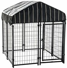 Outdoor Dog Kennel Cat Pet Shelter Waterproof Cover Shade Enclosure House Cage