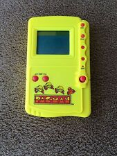 Pacman, handheld game, vintage 1997, yellow, used
