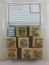 Stampin' Up! BON APPETIT Stamp Set Recipe Card Kit 2001