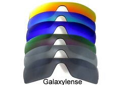 Galaxy Replacement Lenses for Oakley Batwolf Black/Titanium/Purpl/Blue/Green/Red