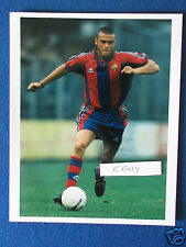 "Original Press Photo - 10""x8"" - Luis Enrique - Barcelona -1996"