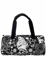 Too Fast Duffle Buffelo Tote Purse Tattoo Pinup Rockabilly Sailors Anchors Bag