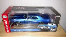 Auto world- 69 mercury cougar eliminator,1:18 die cast metal replica