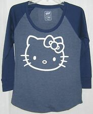 Hello Kitty LONG SLEEVE Baseball Tee GREAT GIFT FREE USA SHIPPING SMALL NWT