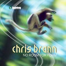 CHRIS BRANN - No Room For Form, Vol. 1 CD ** BRAND NEW : STILL SEALED **