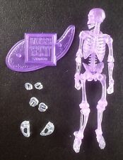 "SKELETON WARRIOR PURPLE Vitruvian HACKS Boss Fight Studio 4"" in figure COMPLETE"