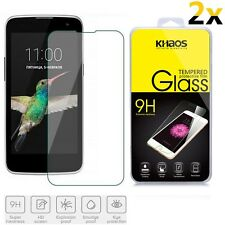 2x KS For LG Optimus Zone 3 / LG K4 LTE / Spree Tempered Glass Screen Protector