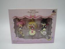 Anime Sailor Moon Twinkle Dolly Mini Figure Charm Strap Special Set Bandai Japan
