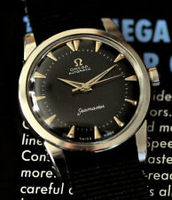 Vintage 1959 Omega Seamaster Watch Cal 500 Automatic Stunning Dial Runs Great!