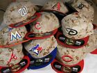 New Era MLB 5950 59FIFTY Digital Camo Memorial Day Fitted Hat You Choose Team