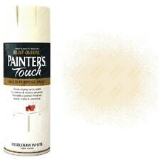 x3 Rust-Oleum Painter's Touch Multi-Purpose Spray Paint Heirloom White Satin