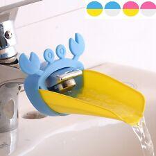Süß Wasserhahn Extender für Kinder Bequemlichkeit Händewaschen Krabbe Form 1pc