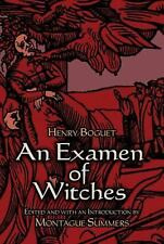 Examen of Witches Book Historic Examination of Witches Wiccan Pagan Supply