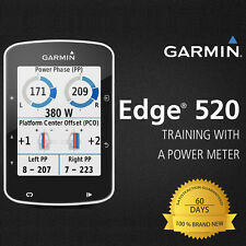 Brand New Garmin Edge 520 Black GPS Computer Device Only Road Bike Racing