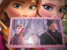 PANINI DISNEY FROZEN LA REINE DES NEIGES AUTOCOLLANT STICKER N° 101 BRILLANT