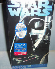 STAR WARS TRILOGY  ,VHS CBS FOX EDITION ,FACTORY SEALED RARE 3 movies