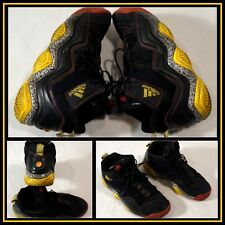 Adidas Black Gray Yellow High Top Athletic/Hiking/Waling Shoe M Size (10) #9710