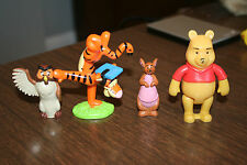 Winnie the Pooh &Friends Figures PVC Cake Topper Bakery Crafts Tigger Graduation