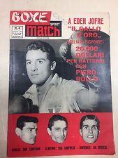 SPORT MATCH LA BOXE NEL MONDO RIVISTA N° 2 DEL 1961 EDEN JOFRE