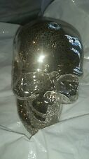 4 Pottery Barn Mercury Skull Halloween  New with tag