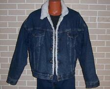 Vintage Levi's Sherpa Lined Denim Jean Jacket - USA Size large