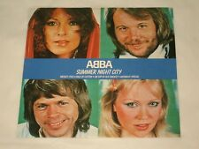 "ABBA - 7"" SINGLE - SUMMER NIGHT CITY - AUSSIE"