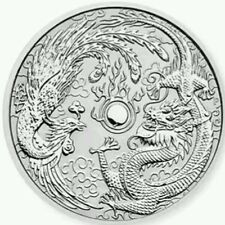 2017 Australian Dragon and Phoenix 1oz Silver Bullion Coin