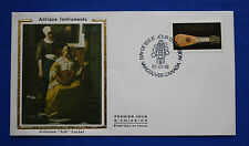 "Canada (878) 1981 18th Century Mandora Colorano ""Silk"" FDC"