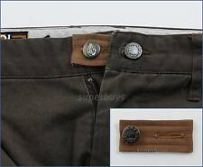 Brown Pants Shorts Jeans Trouser Waist Extension Expander Extend Size Button