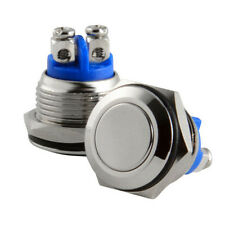 Hot Sell Waterproof 12mm Start Horn Button Stainless Steel Metal Push Switch