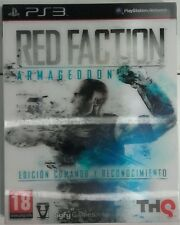 Red Faction Armageddon. Edicion Comando y Reconocimiento. Ps3. Fisico. Pal Es