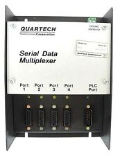 NIB QUARTECH 8517 SERIAL DATA MULTIPLEXER 120VAC, 50/60HZ W/ 8591-03 CABLE