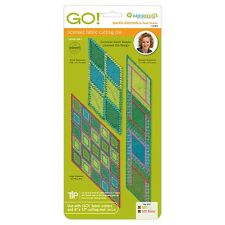 AccuQuilt GO Fabric Cutter Cutting Die Sparkle-Diamonds by Sarah Vedeler 55089
