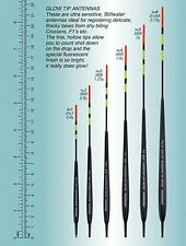 Drennan Glow Tip Antenna Float Selection One of each size