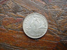 1945-S  PHILIPPINES 50 CENTAVOS SILVER COIN - MUST SEE