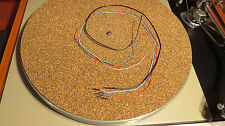 Tonearm OFC color coded wires cables leads rewire kit set 14 strand! Gold clips