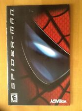 Spider Man Play Station 2 PS2 Manual Instruction Activision SpiderMan Movie 1