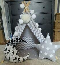 Perros, gatos Tipi, Mascotas Play House hecho a mano Tipi con Mat