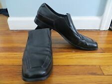Kenneth Cole Black Leather Loafers 10.5