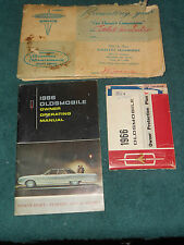 1966 OLDSMOBILE BIG CAR MODELS OWNER'S MANUAL / OWNER'S GUIDE & OPP BOOK / ORIG!