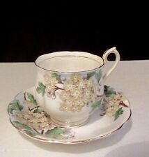 ROYAL ALBERT TEA CUP AND SAUCER HAWTHORN PATTERN TEACUP Bone China ENGLAND
