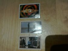 DOCTOR WHO STICKERS FROM SERIES REBOOT. TV SCI FI