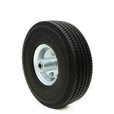 "10"" Flat Free Tubless Tire Wheel 4 Handtruck Dolly Go Kart Wagon Hand Truck FOAM"